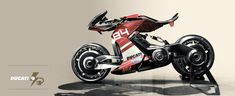 Electric motorcycle PART II by Yung Presciutti, via Behance