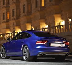 The sexy stance of the S7.  Car: 2014 @Audi S7 Sportback (420hp V8 twinturbo) Performance: 0-100kmh(62mph): 417sec (tested) 4.6sec (official) Location: Doha Qatar Color: Sepang matte blue Facebook: http://ift.tt/1sUXuHP Camera & lens: Canon Eos 5D Mark II / 70-200mm Thanks to: Audi Qatar ( @audiqatar )  #audi #s7 #sportback #a7 #quattro #audia7 #qauto #doha #qatar #german #euro #caroftheday #photooftheday #cars #coupe #carporn #instagood #vossen #canon #eos #auditography #r8 #night #love…