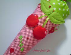 """Schultüte """"  Sweet Cherry  """" Zuckertüte Kirsche"""