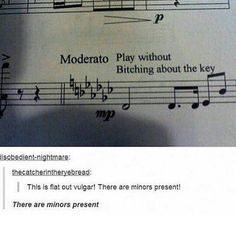 17 Jokes Thatll Make Any Non-Musician Say I Dont Get It - Jokes - Funny memes - - Warning: puns about clefs ahead. The post 17 Jokes Thatll Make Any Non-Musician Say I Dont Get It appeared first on Gag Dad. Funny Band Memes, Marching Band Memes, Funny Quotes, Silly Memes, Funniest Memes, Satire, Orchestra Humor, Music Jokes, Funny Music