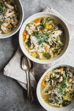 White Bean Chicken Soup / The Modern Proper