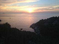 #tramonto #croazia #montagna #mare #cielo #sopralluoghi #e #gurati  @Pal Kolndrekaj