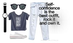 """When in doubt, wear your jeans"" by harina23 on Polyvore"