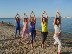 Fitness on the beach ..cloth handmade for my clients