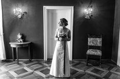 Brautkleid schlicht, Empire Linie  (Foto: Mathias Richter)