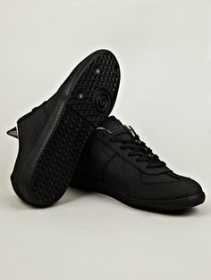Maison Martin Margiela all gum, all black everything men's sneakers.