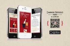 Champagne Protocoles de G.H.MUMM sur iPhone
