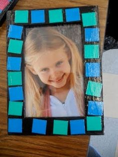cute Father's Day craft-get frames from Ikea