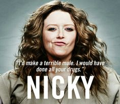 Orange is the New Black – characters, pictures The Real L Word, Nicky Nichols, Alex And Piper, Natasha Lyonne, New Netflix, Black Characters, Fictional Characters, Orange Is The New Black, Mothers Love