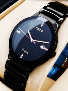 Mens Luxury Watches Ceramic Bezel Sapphire Glass Luminous Quartz Silver Gold Two Tone Stainless Steel Watch (Gold Blue) – Fine Jewelry & Collectibles Sport Watches, Cool Watches, Mens Wrist Watches, Latest Watches, Stylish Watches, Luxury Watches For Men, Elegant Watches, Mens Designer Watches, Men's Watches