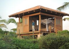 The eco-friendly Playa Viva is north of Acapulco on Mexico's Pacific Coast.