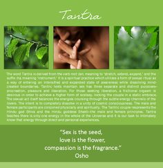 Summer, Tantra, Sex, Deepak Chopra, Couple in Love, Rain, Green Leaves, Holding Hands, Osho