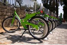 Tel-O-Fun: Its a sunny day out, and you guys are tired of the booze and food scene. Why not hop on everyone's favorite two-wheeled contraption and bike around the city! Tel-o-Fun, Tel Aviv's rental bikes are located in various stations around the city, allowing you to rent them out for the day, week or month.