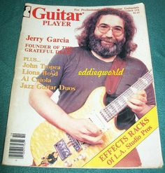 Vintage Guitar Magazine Jerry Garcia Grateful Dead
