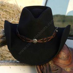Corbeto's Boots | 50-JACKSON | Sombrero cowboy Stars & Stripes fieltro blando negro moldeable | Stars & Stripes crushable black felt cowboy hat. Western Belt Buckles, Western Belts, Western Wear, Hipsters, Sombrero Cowboy, Chapeau Cowboy, Black Cowboy Hat, Felt Cowboy Hats, Southwestern Jewelry