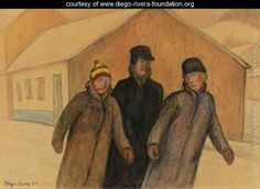 Winter, Slovakia - Diego Rivera - www.diego-rivera-foundation.org
