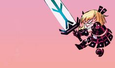 Magik in Giant-Size Little Marvel AxV #1 - Skottie Young