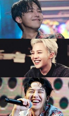 I'm in love with his smile, keep smiling forever Kwon jiyong