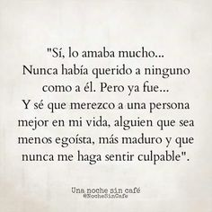 Lo amaba mucho..