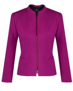 Anthea Crawford Jacket - Radiant Orchid Pantone #coloroftheyear