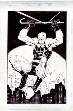 the Daredevil Portfolio, by John Romita, Jr.
