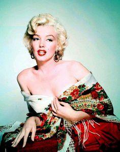 Marilyn. Photo by Nickolas Muray, 1952.