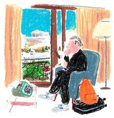 フランス人デザイナーDamien Florébertのクレヨンで描くイラストが子供時代の記憶を思い起こさせる。D2などの雑誌のために風刺漫画を描いてもいる。絵のタッチは昔からあるけれど上品で洗練さている。