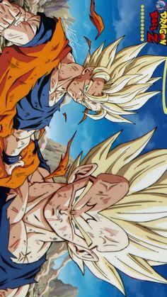 Dragon Ball Z, Dragon Ball Image, Dragonball Z Wallpaper, Wallpaper Naruto Shippuden, Animes Wallpapers, Son Goku, Artwork, Cartoon, Drawing