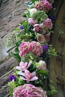 Flower Design Vintage Weddings: English Country Wedding at St Annes Parish Church, Singleton & Singleton Lodge