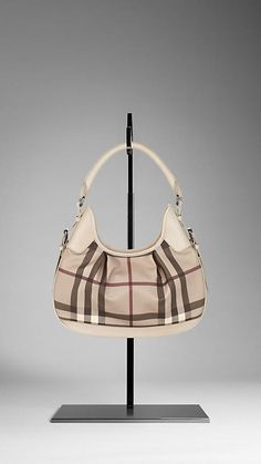 Burberry - SMALL SMOKED CHECK HOBO BAG; NEED THIS! but not for $900