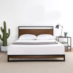 10 Creative and Modern Tricks: Small Bedroom Decorating Ideas For Adults chic bedroom remodeling.Bedroom Remodel On A Budget Money girls bedroom remodel daughters. Cama Industrial, Industrial Bed Frame, Bed Frame And Headboard, Headboards For Beds, Wood Headboard, Plataform Bed, Diy Bedroom Decor, Bedroom Furniture, Bedding Decor