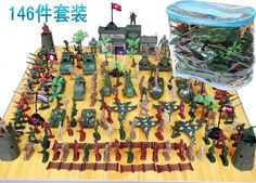 Batman 146 pieces/sets of the second world war, military model scene toys, artillery tanks toy, the boy birthday gift
