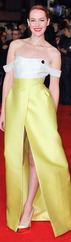 Jena Malone In Emilia Wickstead – 'The Hunger Games: Mockingjay – Part 1′ London Premiere