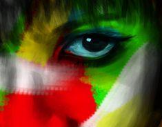 Digital Portrait of the love of my life. Digital Portrait, New Work, Behance, Gallery, Check, Art, Art Background, Kunst, Art Education