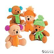Winter Stuffed Bears