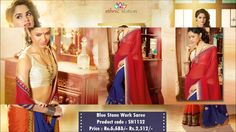 Shine In the Parties and Other Occasions With DesignerLace, Zari & Stone Work Party Wear Sarees From EthnicStation.  Shop Online @  http://www.ethnicstation.com/sarees/party-wear-sarees
