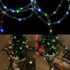 2m 20 LED Waterproof Leaf Garland Copper Wire Fairy String Light Battery Operated Xmas Wedding Decor. Yesterday's price: US $2.34 (2.05 EUR). Today's price: US $1.87 (1.63 EUR). Discount: 20%.