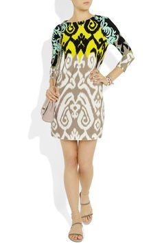 Tibi printed jersey dress