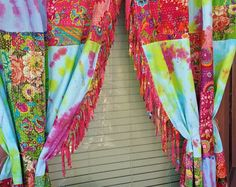 Boho Curtains In STOCK Bohemian Gypsy HippieWild by HippieWild