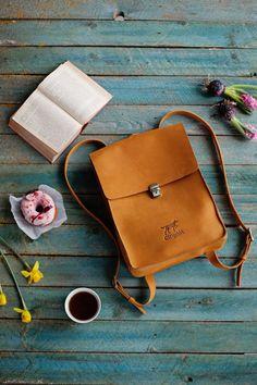 Backpack, leather rucksuck, back to school bag, college backpack, genuine leather backpack Laptop Rucksack, Rucksack Backpack, Diaper Backpack, Laptop Bags, Back To School Bags, Photography Bags, Leather Craft, Handmade Leather, Vintage Leather