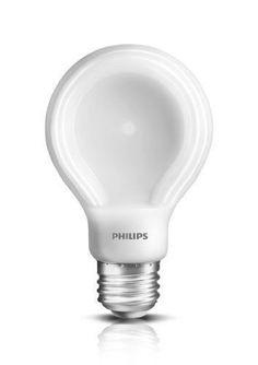 Philips 433227 10.5-watt Slim Style Dimmable A19 LED Light Bulb, Soft White