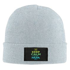 Sports Unisex Keep Calm And Let Papa Fix It Father's Day Cap Knit Hat -- Awesome products selected by Anna Churchill
