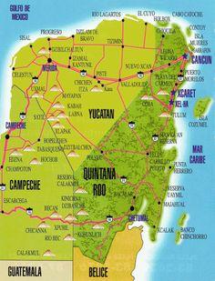 5 plus beaux sites du Yucatan Plus