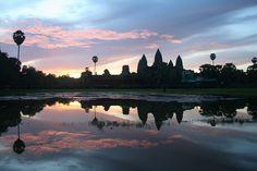 Top 10 sunrises around the world: Siem Reap, Cambodia