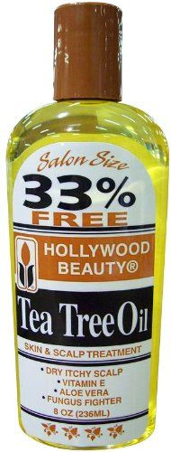 Hollywood TeaTree Oil 8 oz Pack of 6 ** More info could be found at the image url.