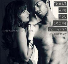 """What are you doing to me?"" - Christian Grey | Fifty Shades of Grey | Jamie Dornan | Dakota Johnson"