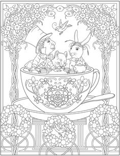 Image result for adult coloring entangled creative