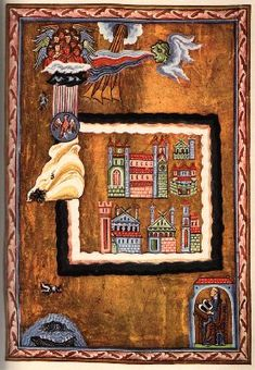 Hildegard of Bingen from the Liber Divinorum Operum