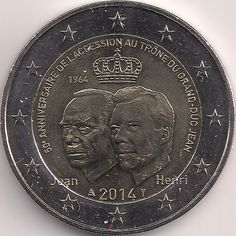 Motivseite: Münze-Europa-Mitteleuropa-Luxemburg-Euro-2.00-2014-Accession au trône