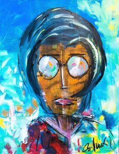 Mrs - Acryl on Canvas